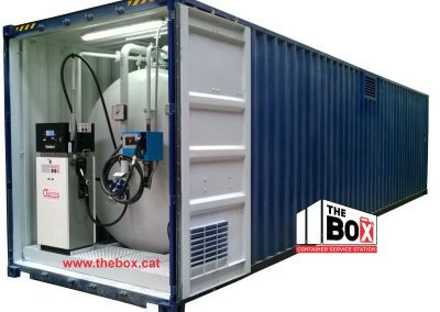Containerized Gas